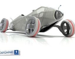3d peugeot concept car contest 3 original model