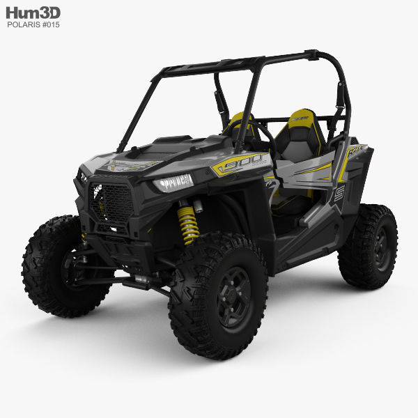Polaris RZR S 900 2017 | 3D model