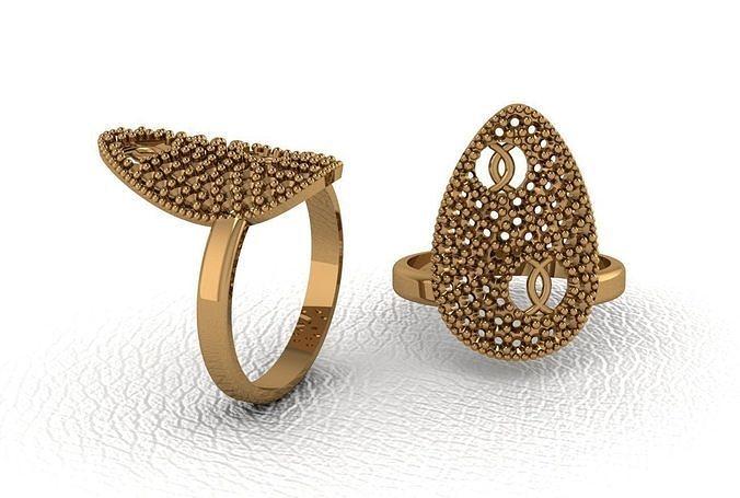 Classical diamond rings
