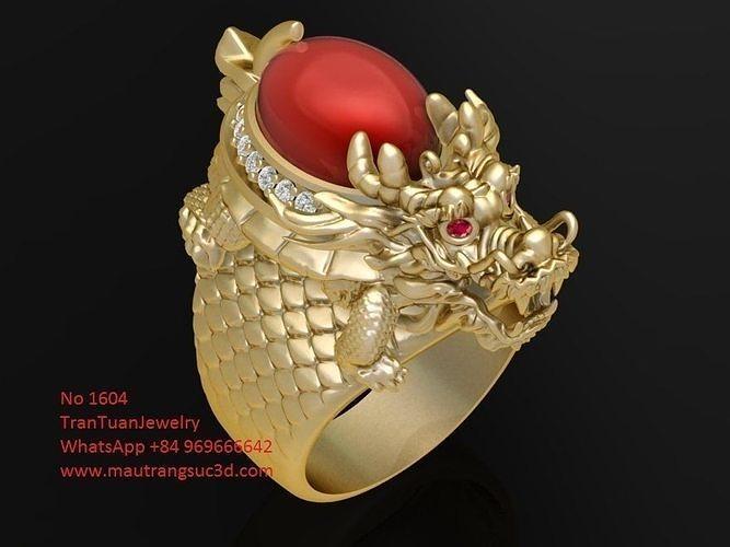 1604 luxuy men ring 3d model stl 3dm 1