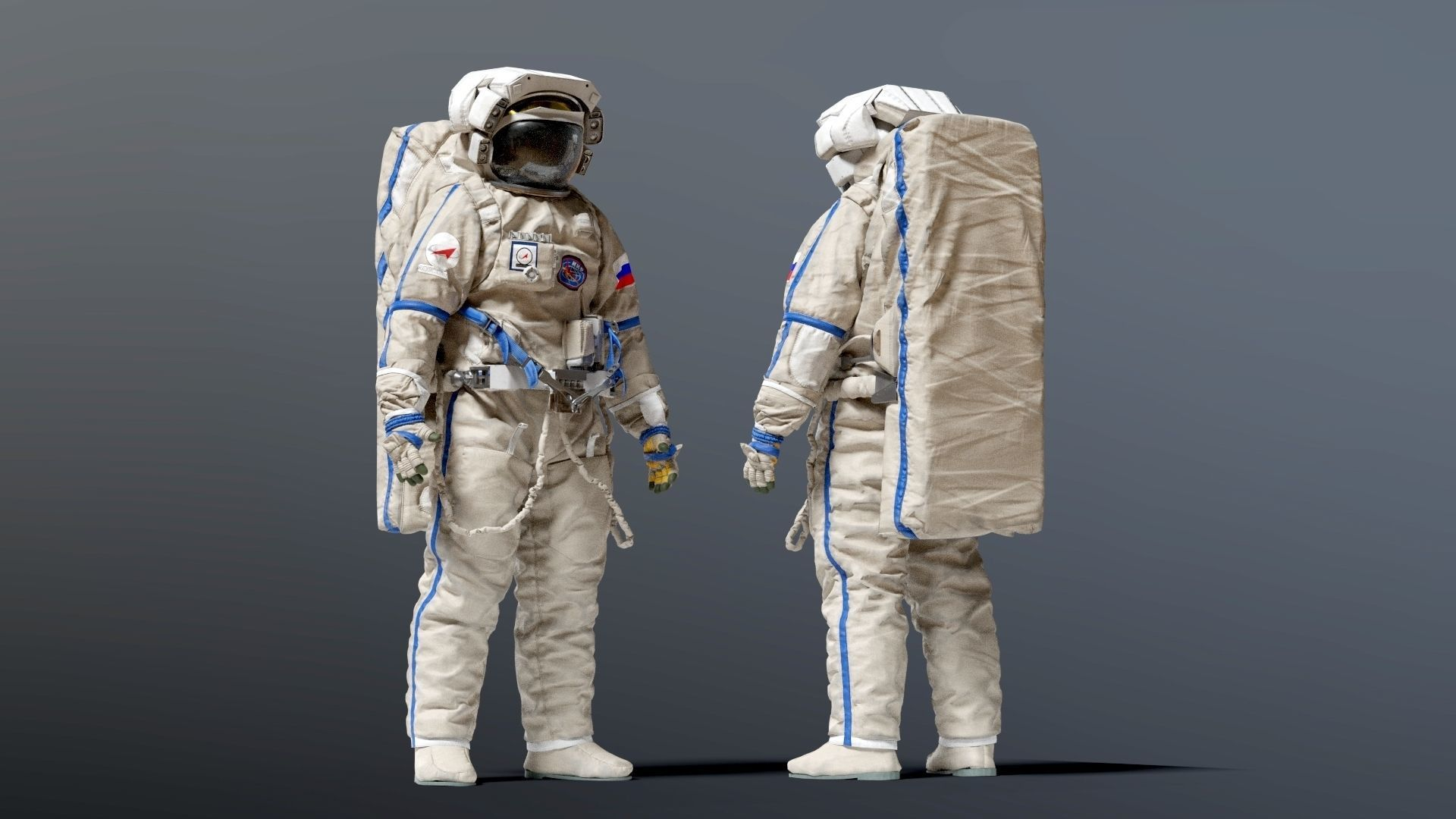 SPACESUIT Russian Orlan