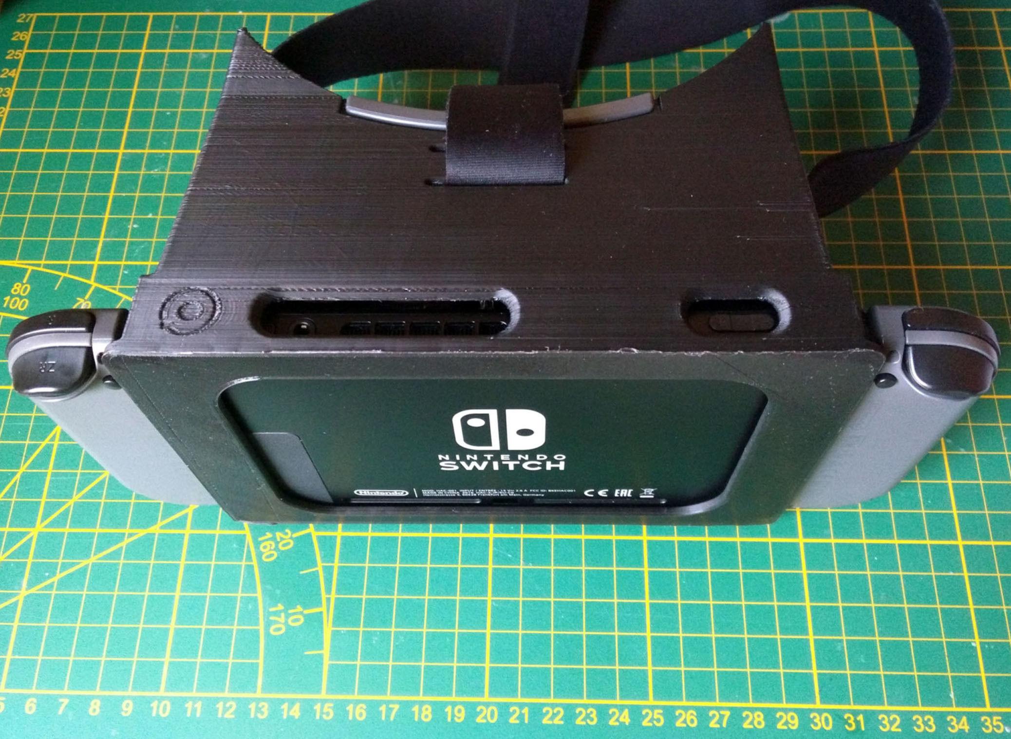 VR Headset STL files for Nintendo labo VR-kit