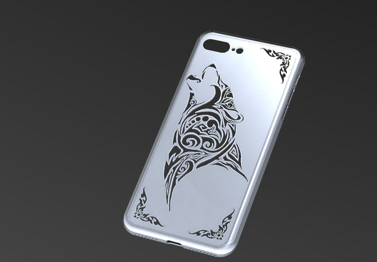 online store 774a9 fa06c IPHONE 8 PLUS case | 3D model