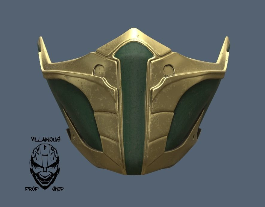 Mortal Kombat 11 Jade Or Skarlet Mask 3d Printable Model