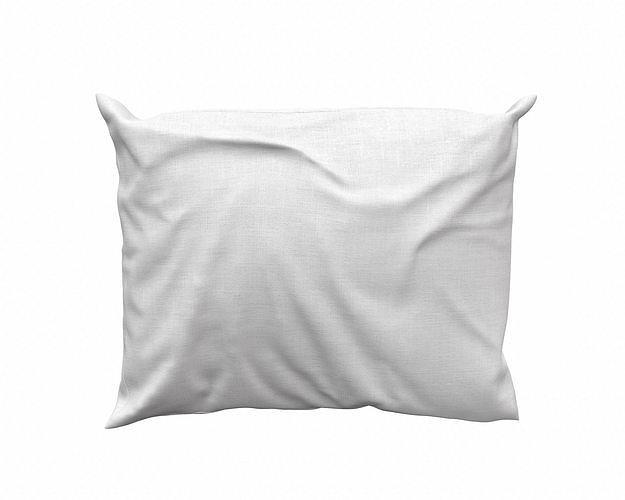 solid pillow 13 3d model obj mtl 3ds fbx dae 1