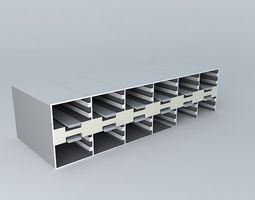 12 2 row x 6 X2 10 GE X2 recepticals 3D