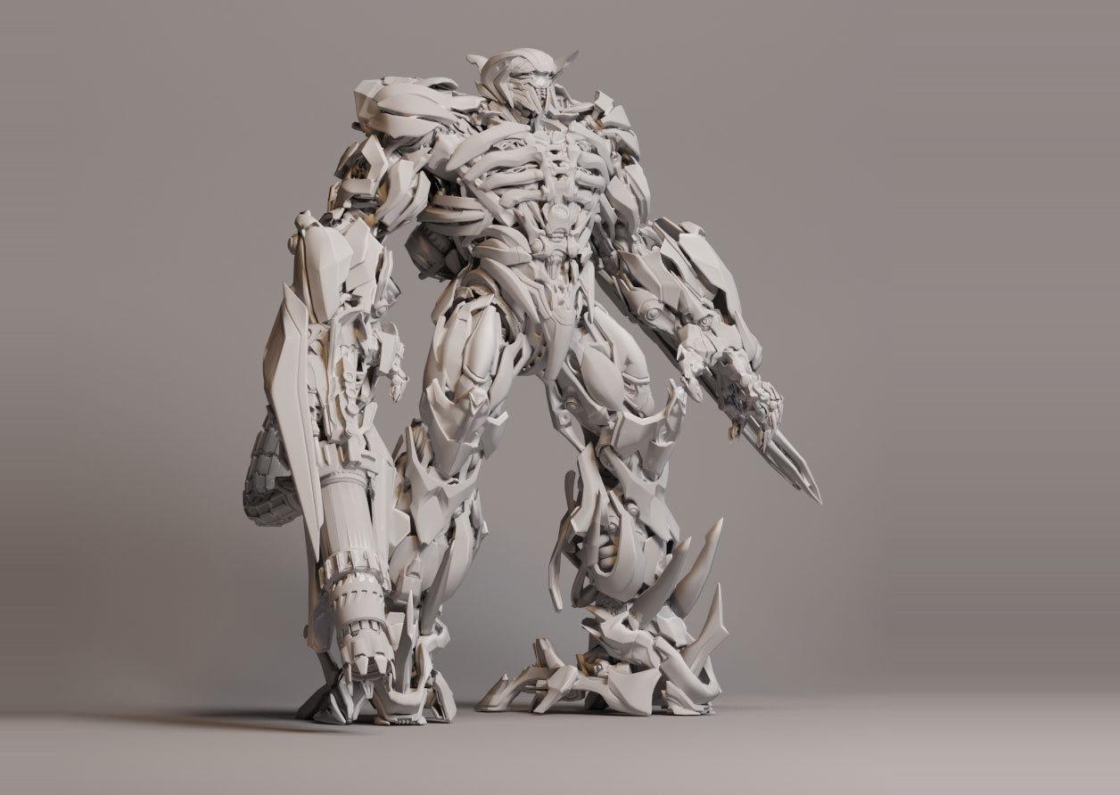 Shockwave  Transformers 3 -3D print model
