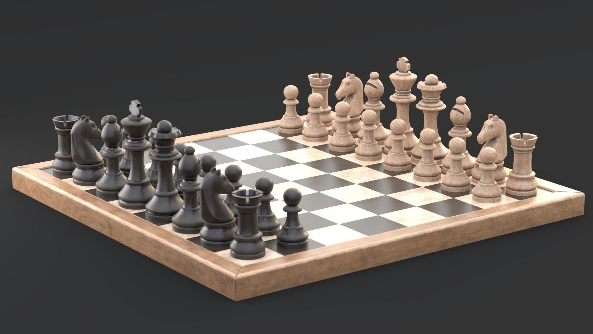 Common chess game