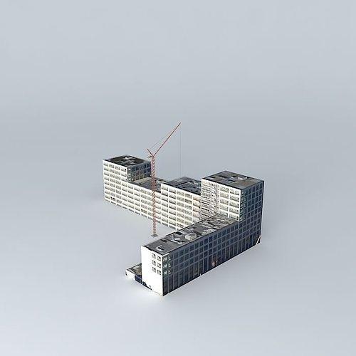 under construction 3d model max obj 3ds fbx stl dae 1