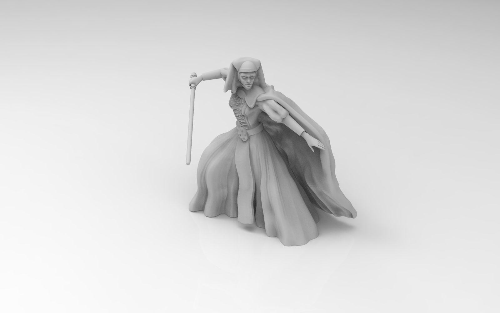 Female Mystical Knight
