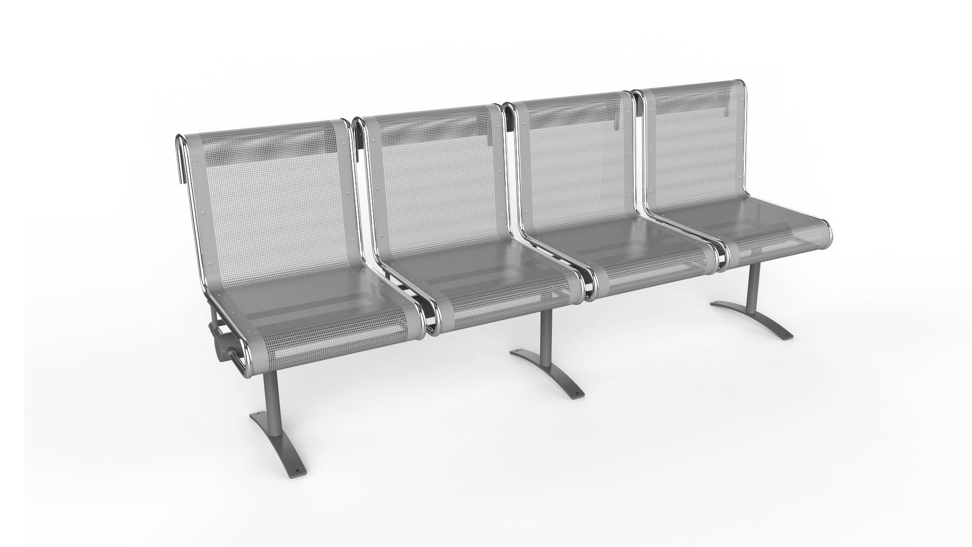 Waiting Room Chair 4 Seats