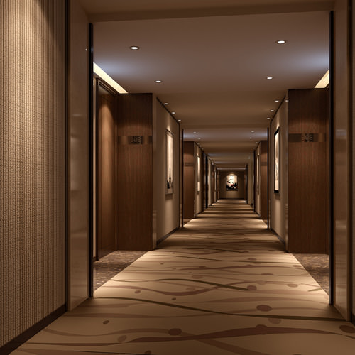 3d Spacious Hotel Hall Cgtrader