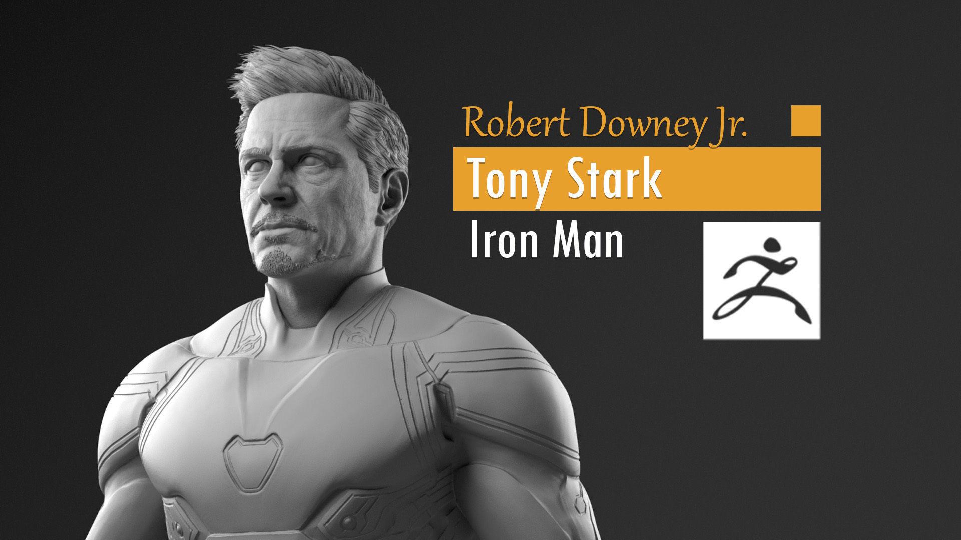 Robert Downey Jr - Tony Stark - Iron Man