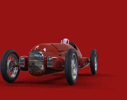 3D model Alfa Romeo 12C 1938