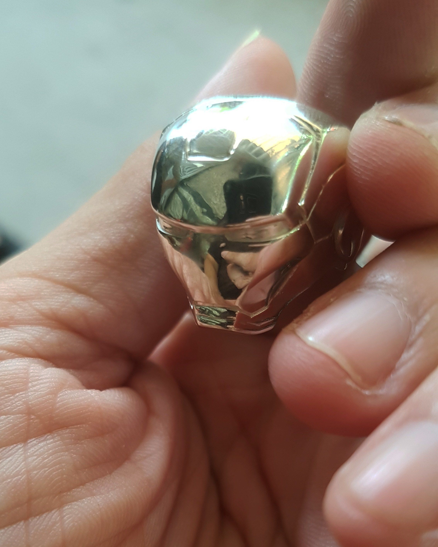 Iron Man Ring 3D Printing Model