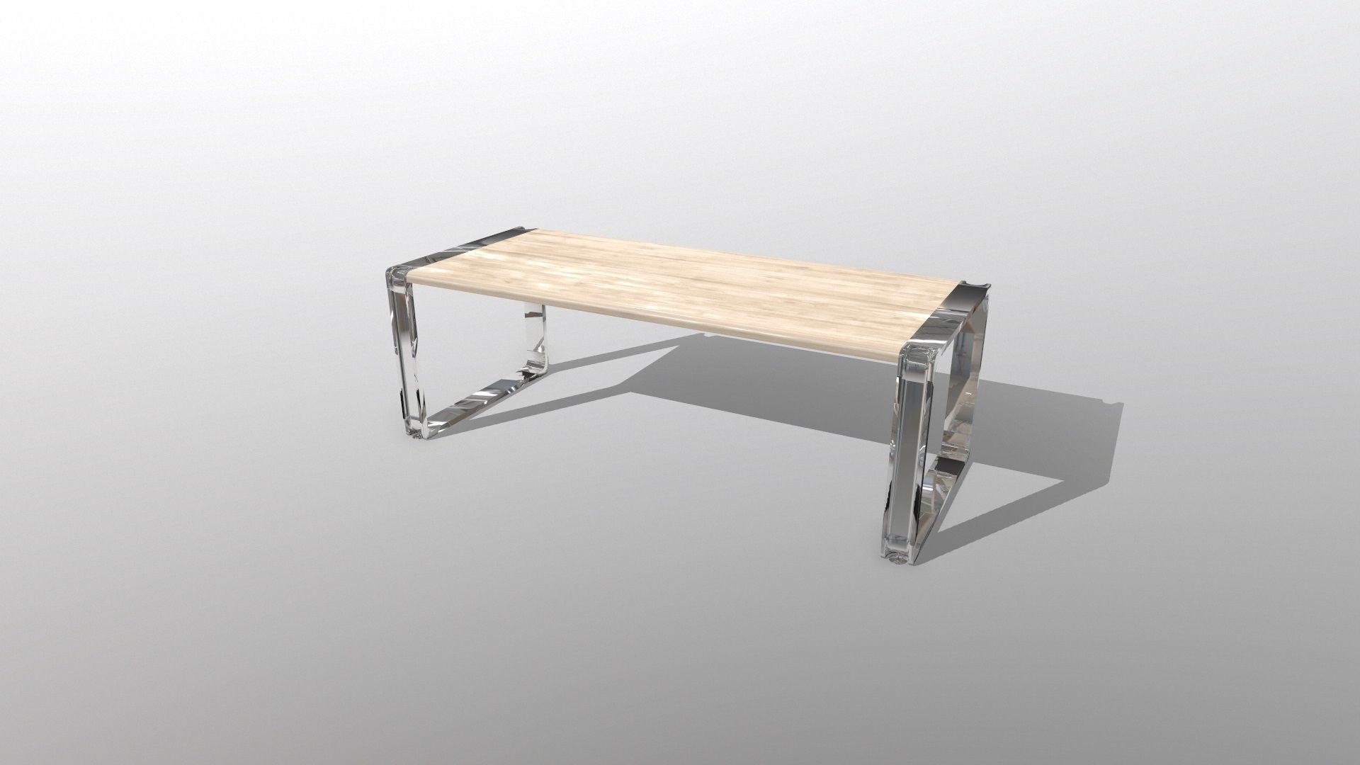 Open Desk from Mobel Linea | 3D model