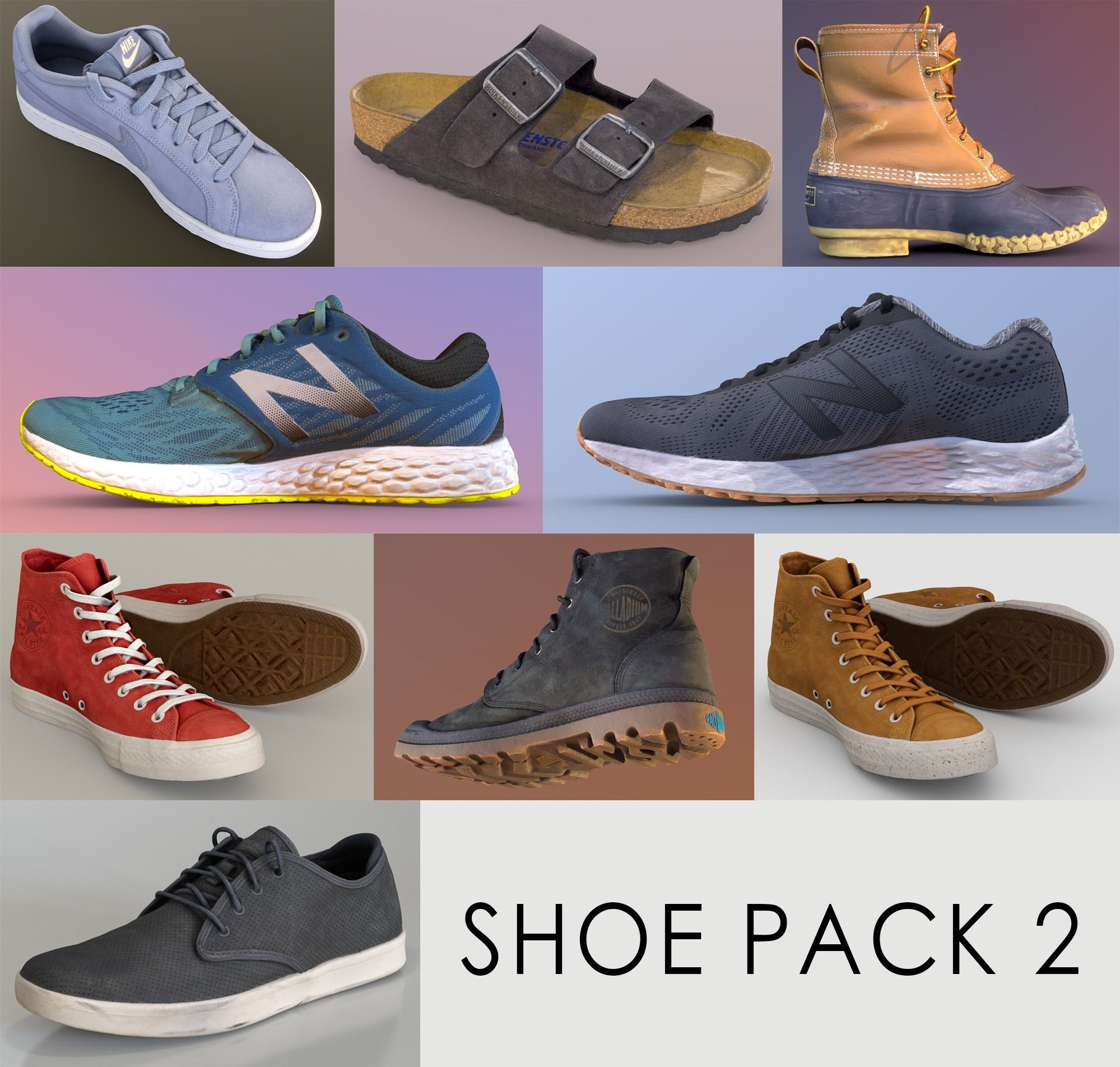 Shoe Pack 2