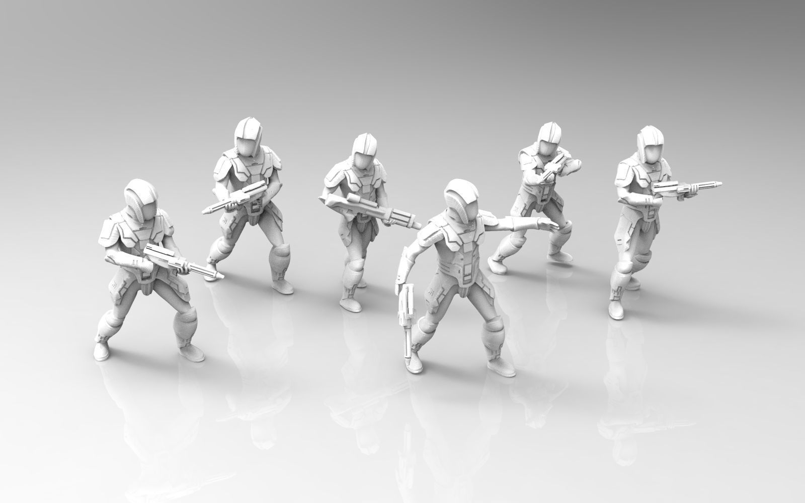 Ancient Trooper Squad with Carbines and Repeater