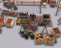 Old Market 3D model