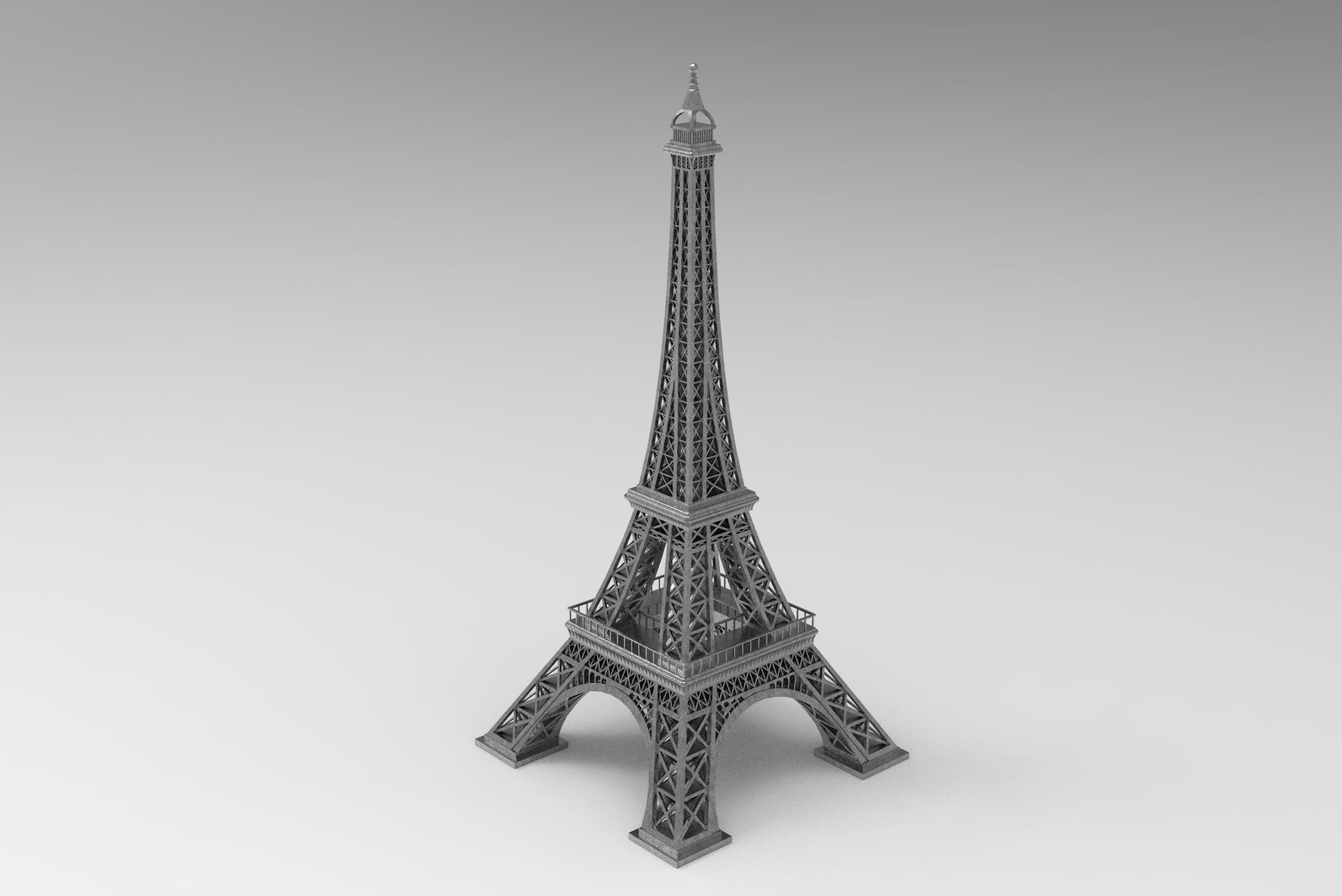 Eiffel Tower for 3D Print