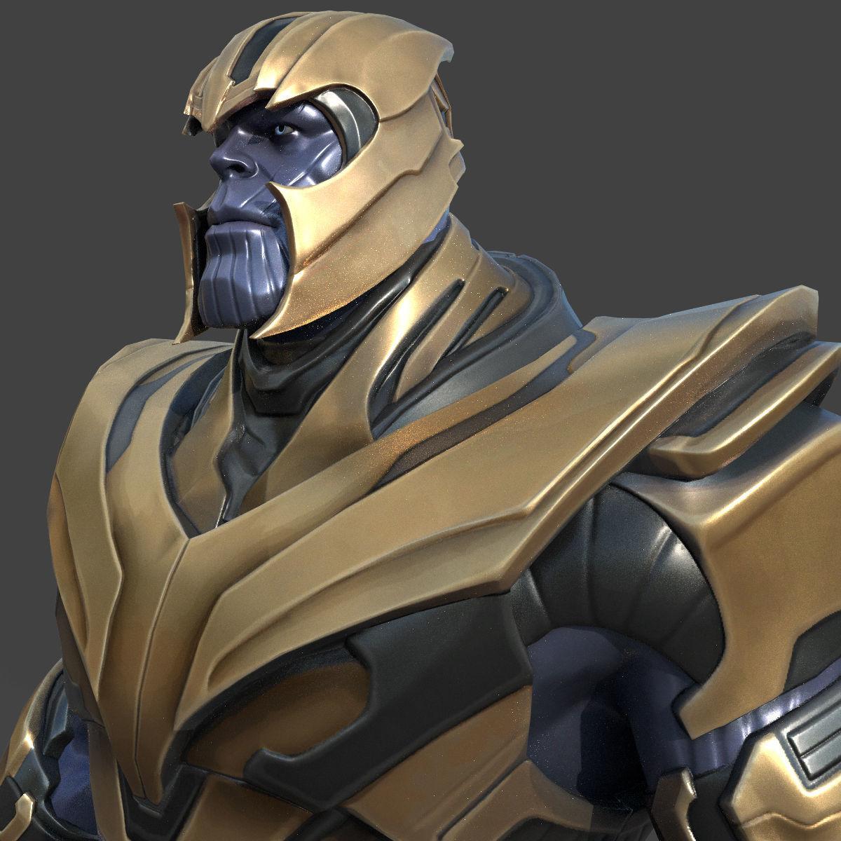 Thanos Fortnite 3d Model Fortnite Free 2019