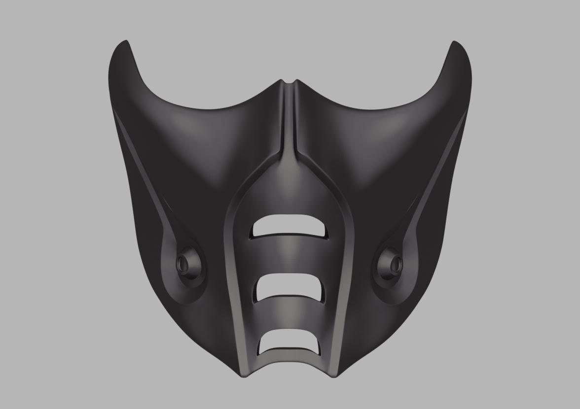 Sub Zero Mask From Mortal Kombat 9 X 11 3d Print Model