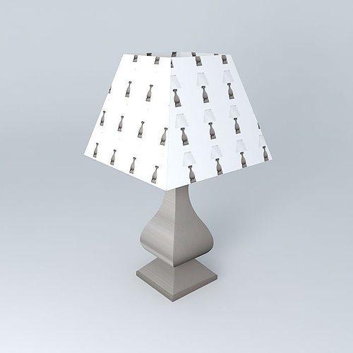 archibald lamp houses of the world 3d model max obj 3ds fbx stl dae 1
