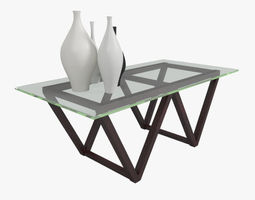 3D Model Coffee Table 4