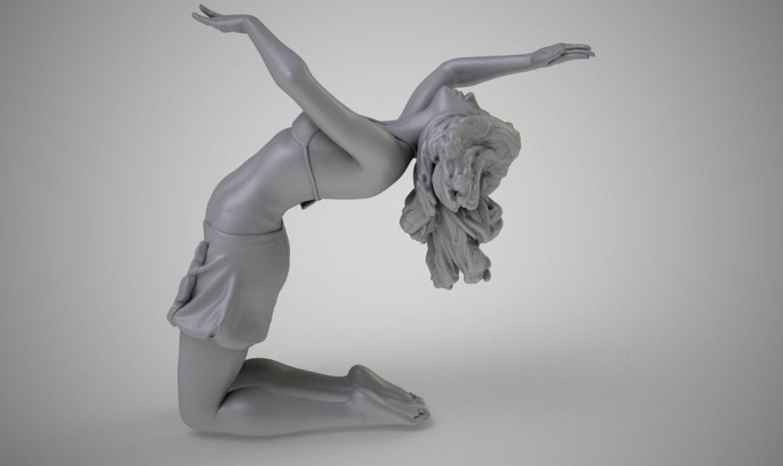 Dancer Backbend