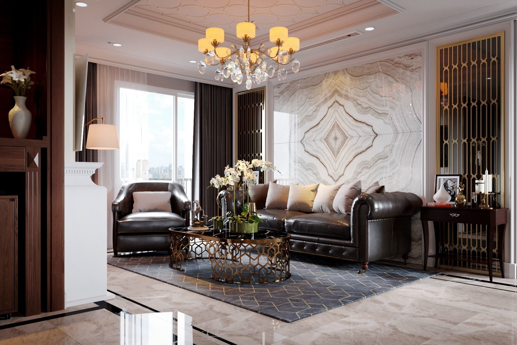 Luxury Apartment Design 2 3D animated | CGTrader