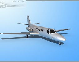 3D model Cessna 560 Citation V