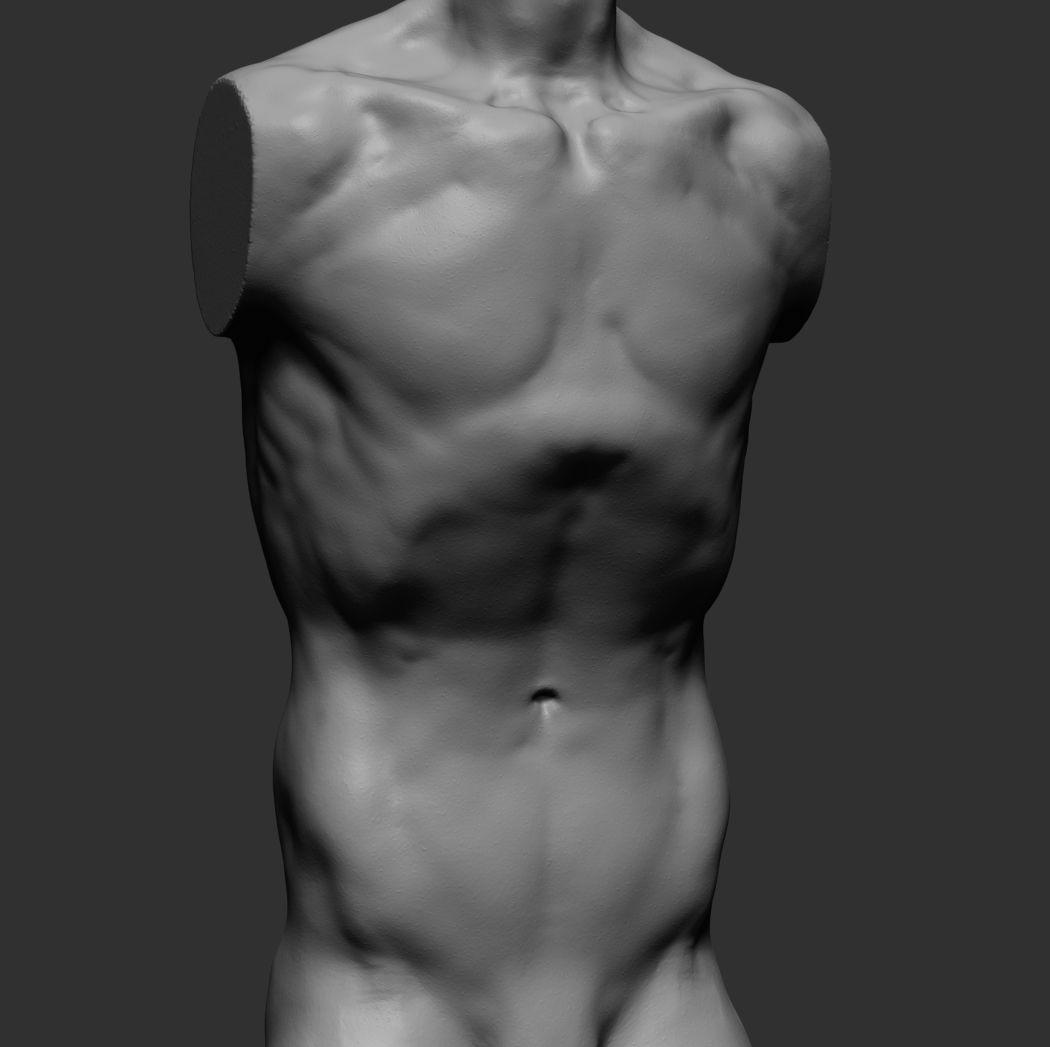 Free man nude boxer stock vectors