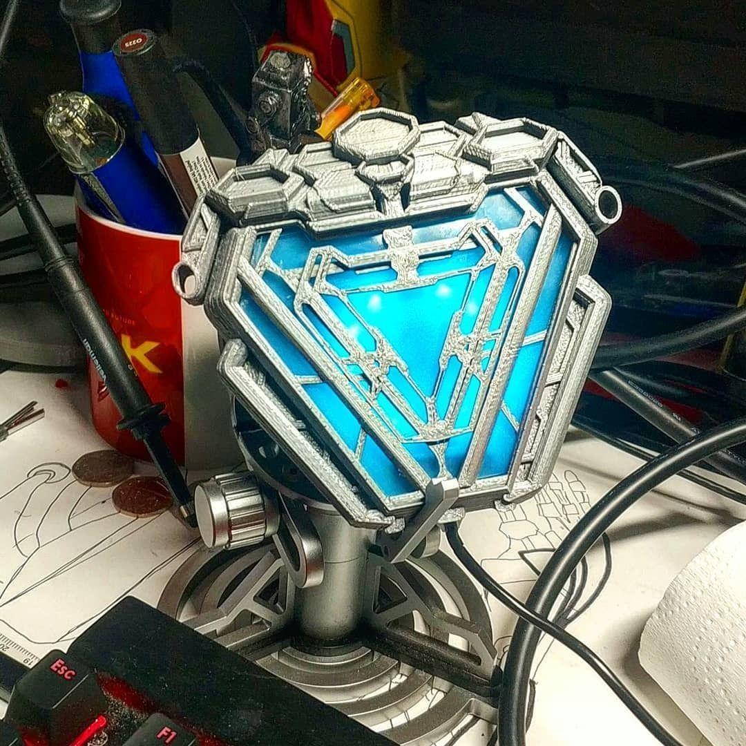 Infinity War Arc Reactor - My Version