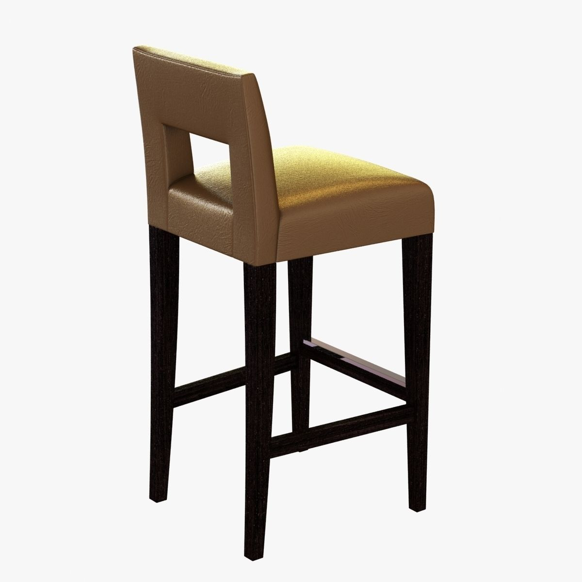 Sofa And Chair Company Hugo Bar Stool 3D Model MAX OBJ 3DS
