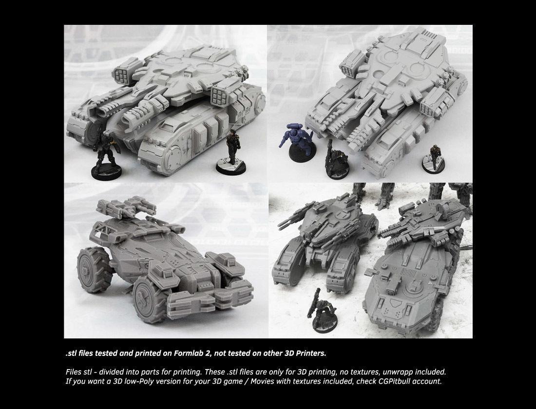 MX6-APC 3D Print | 3D model