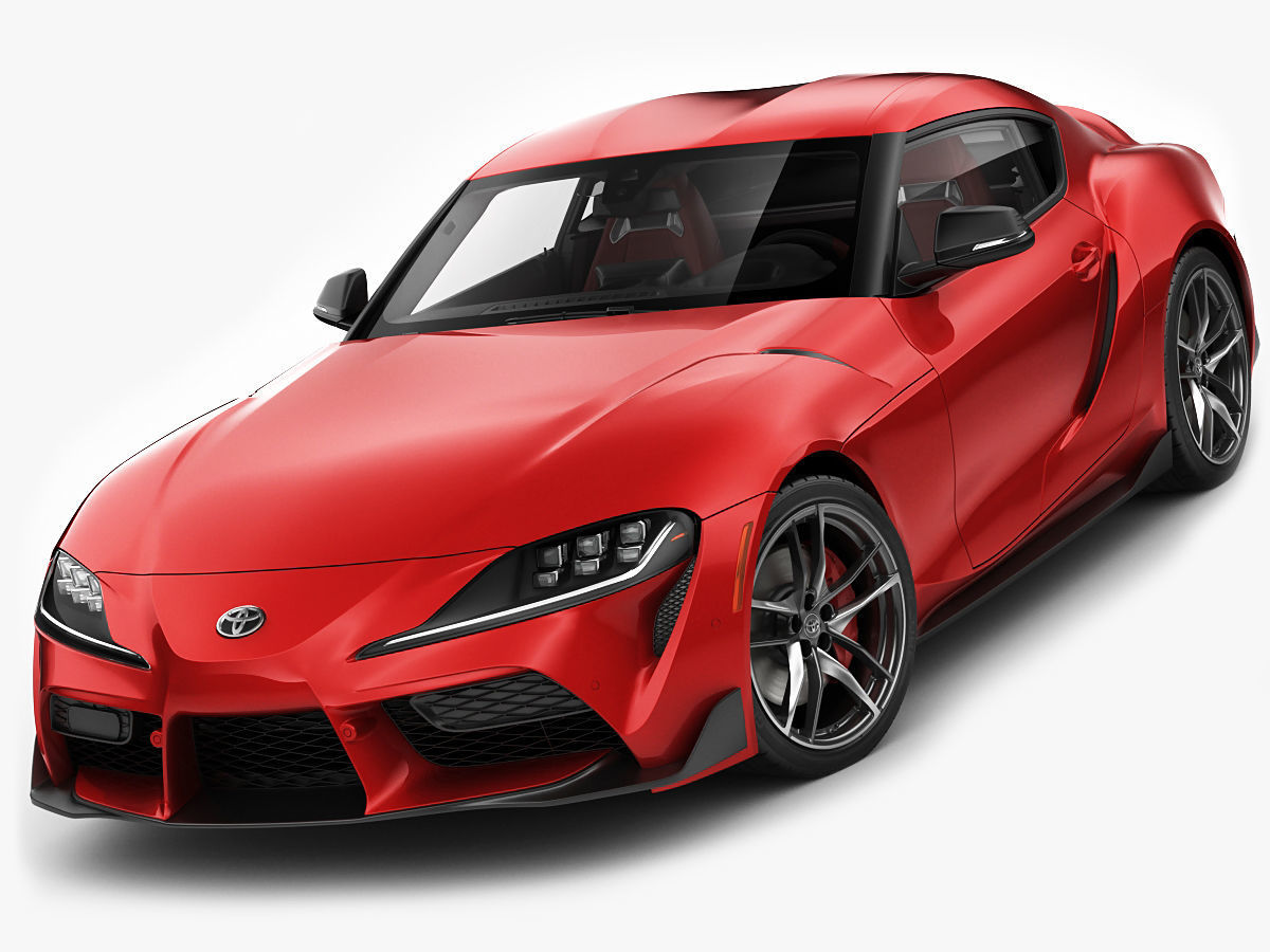 Toyota Supra 2020 with interior