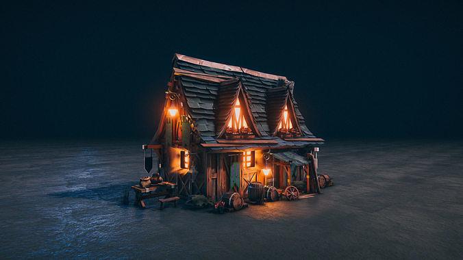 Medieval Kingdom - Realtime PBR Village House