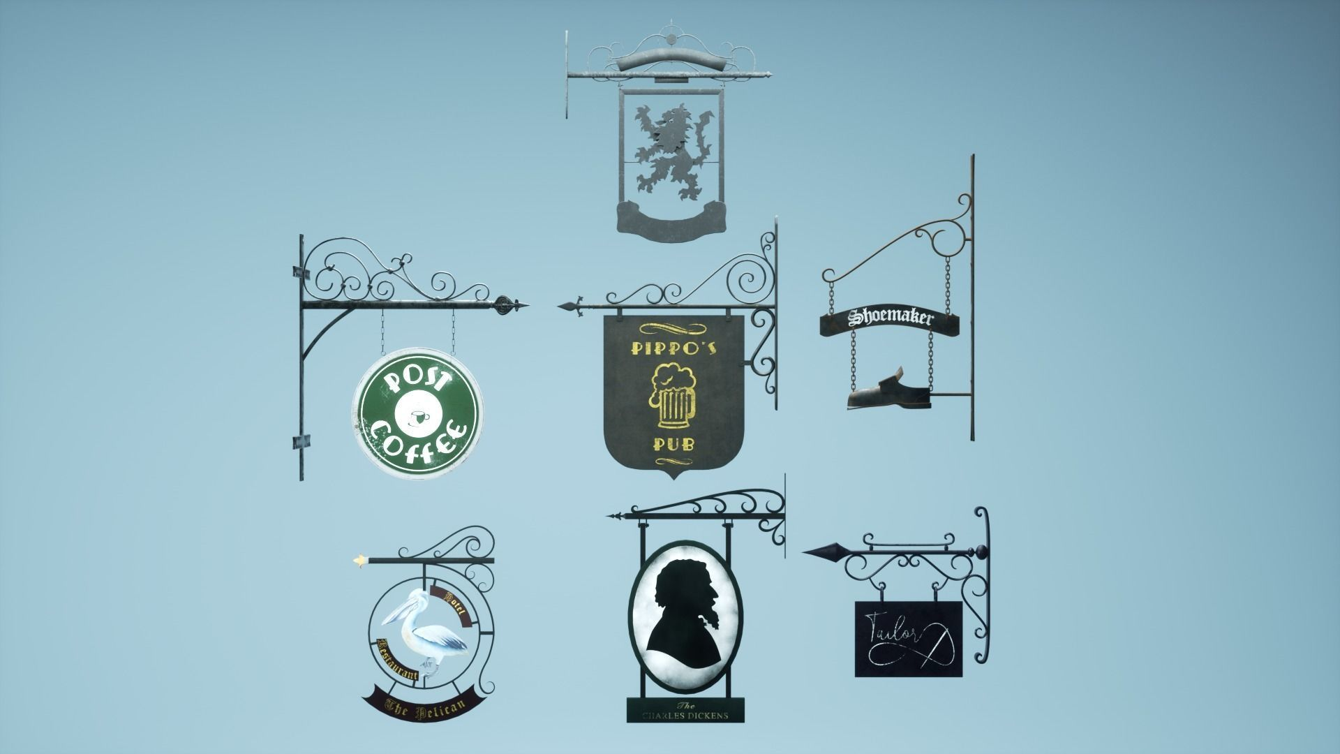Signboard Pack