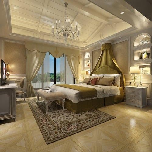 Very luxury bedroom 3d model max cgtrader com - Bedroom Or Hotel Room Collection 3d Model Max Cgtrader Com
