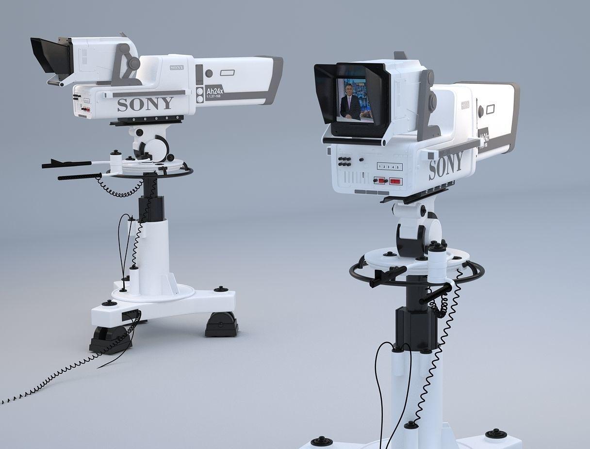Professional SONY BVP 9000 STUDIO CAMERA | 3D model
