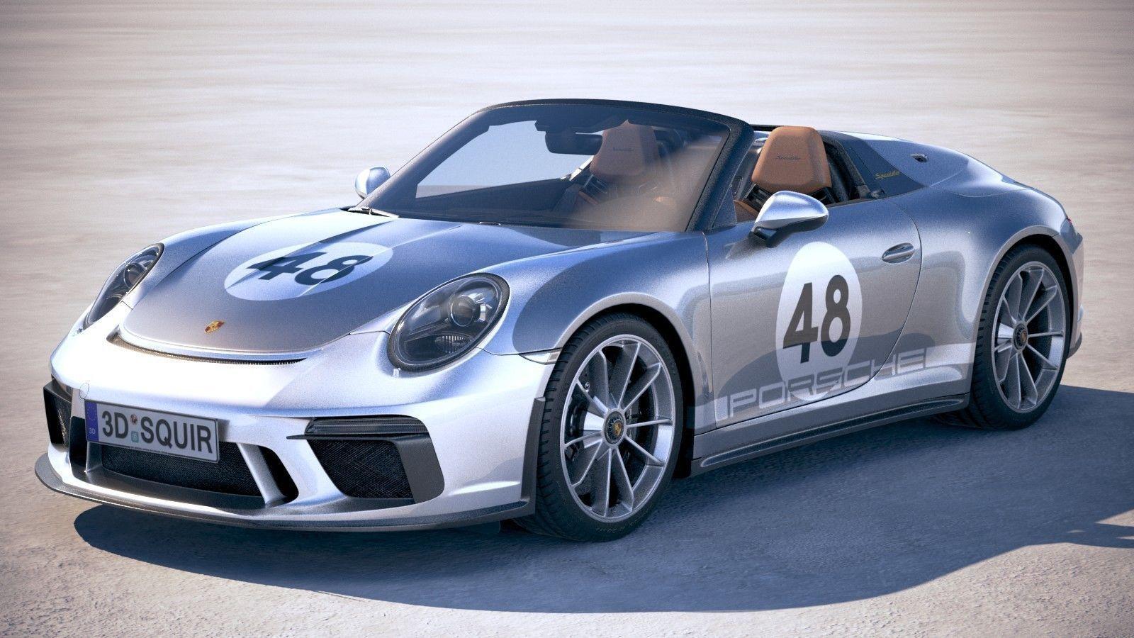 Porsche 911 Speedster 2019 Heritage