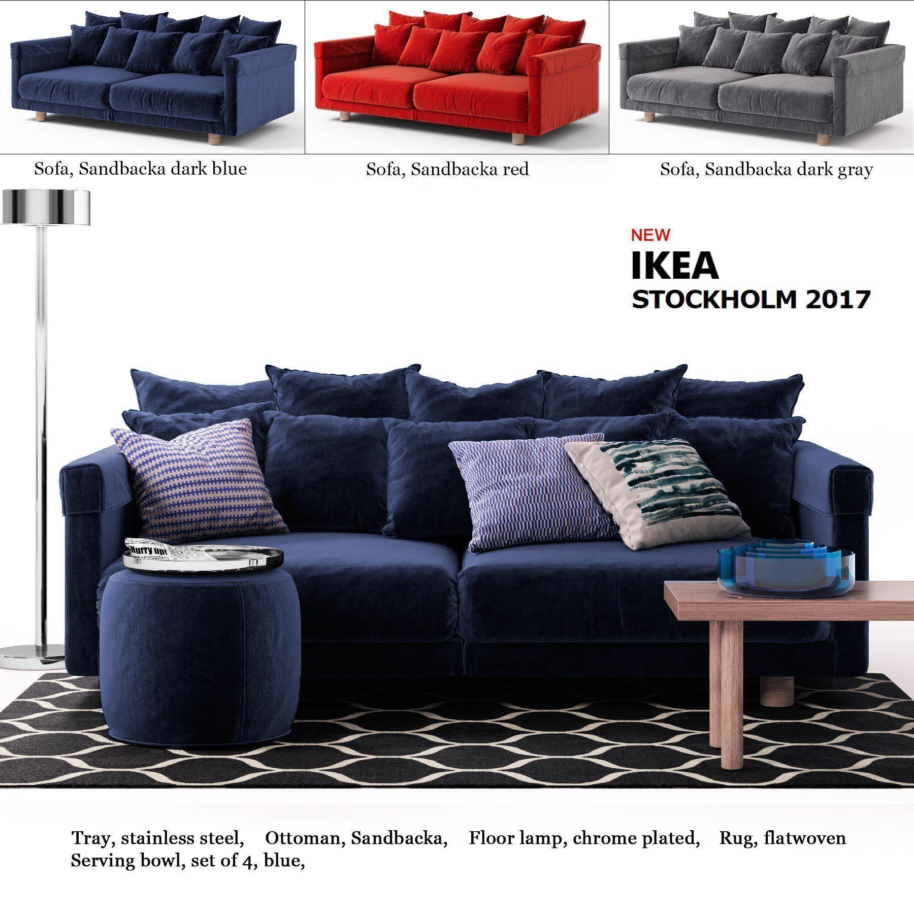 Sofa Ikea Stockholm 2017 Model