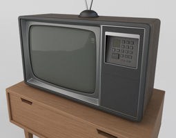 3D model Old Retro TV