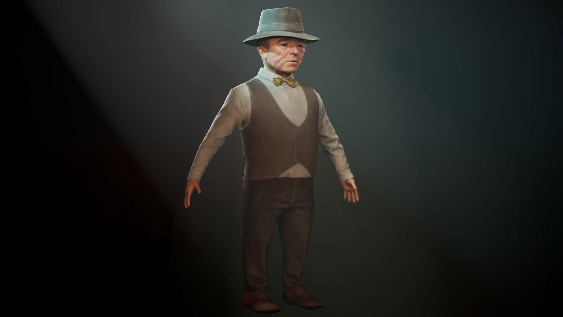 Small man mr  Anderson - Dwarf