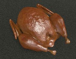 3D Roasted Turkey