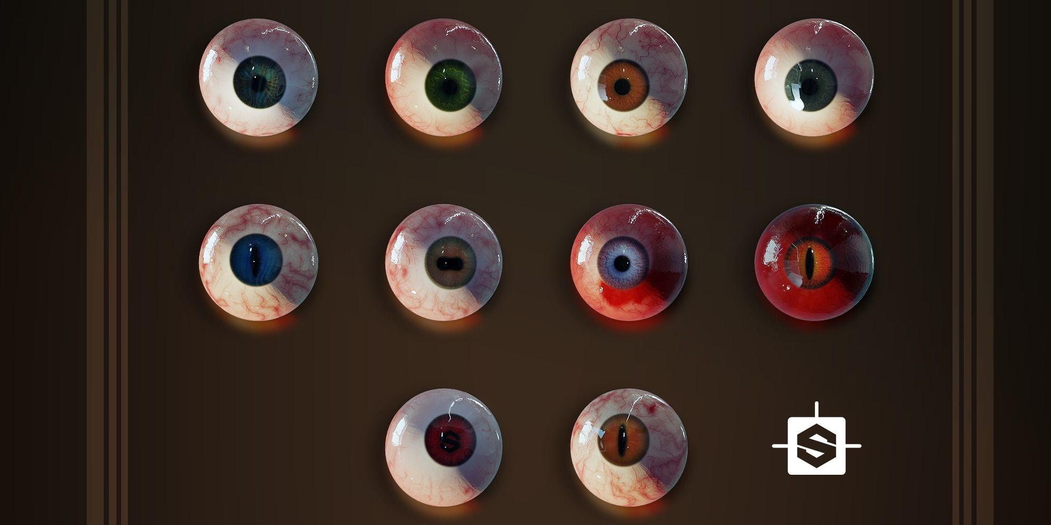 Procedural Eye Generator - Substance Designer
