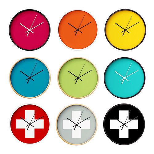 wall clock set 03 3d model max fbx 1