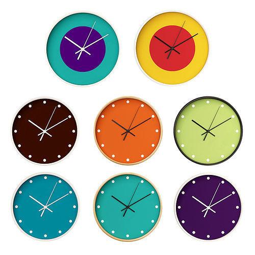 wall clock set 06 3d model max fbx 1