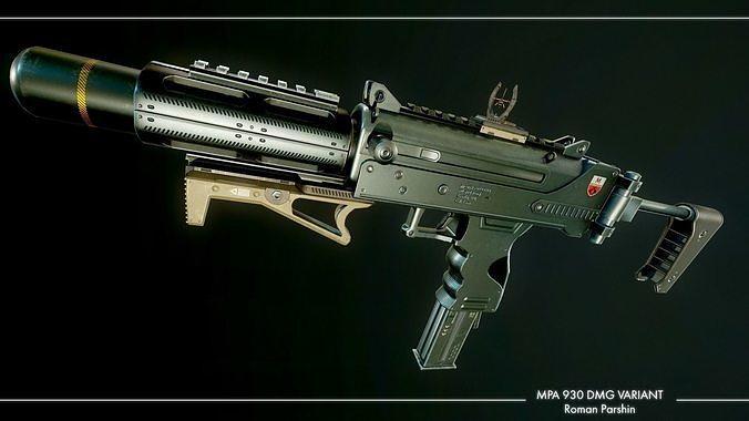 mpa 930 dmg variant 3d model obj mtl 3ds fbx blend tga 1