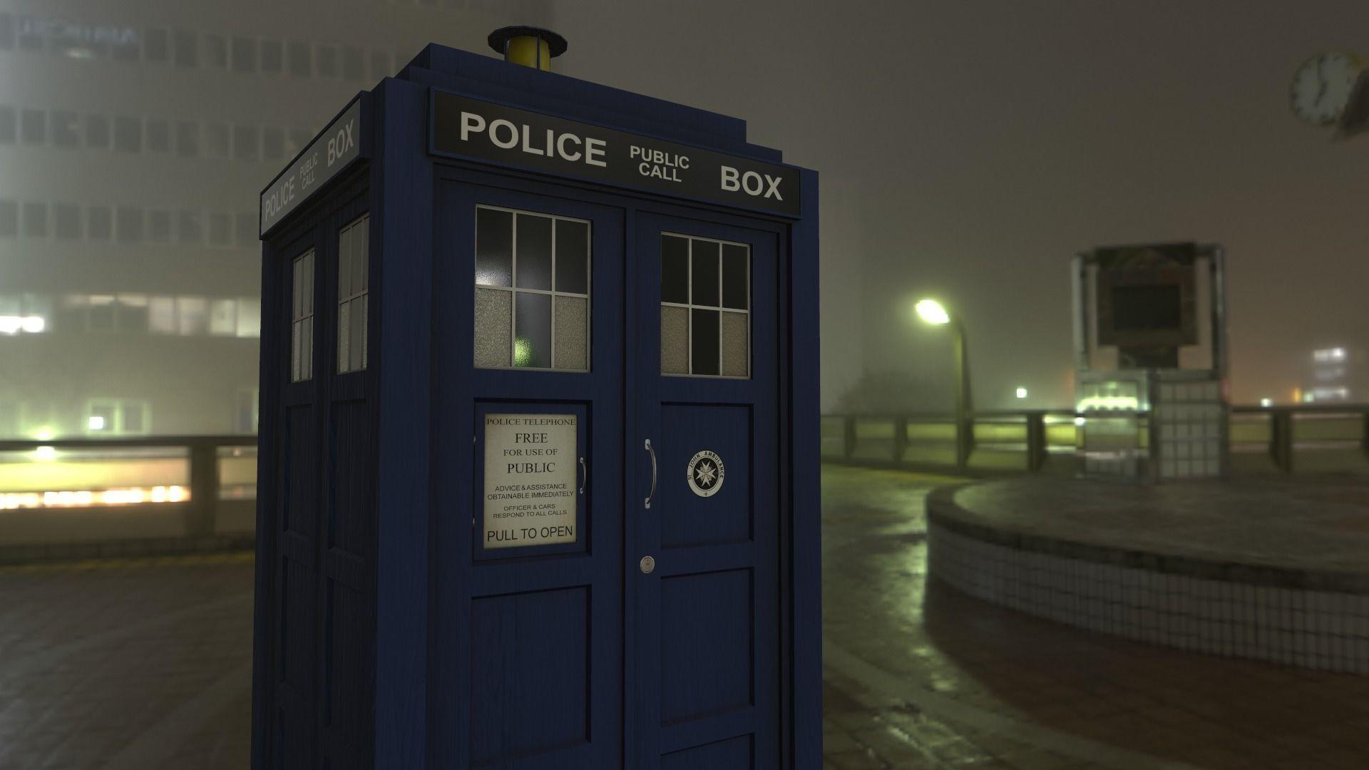 Police Box Tardis